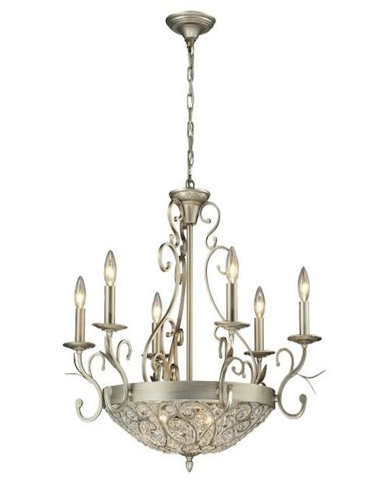 Elk Lighting Andalusia: ELK Andalusia Collection 6+3 Light Chandelier In Aged