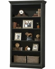 Antique Black Central Bookcase Oxford by Howard Miller HM-920-012