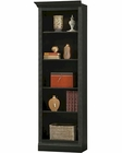 Antique Black Return Bookcase Oxford by Howard Miller HM-920-014-16