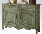 Antique Green Console Table by Acme Furniture AC90110