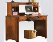 Antique Oak Desk w/ Hutch Brandon by Acme Furniture AC11019DH