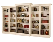 Antique Vanilla Bookcase Wall Oxford by Howard Miller HM-920-006-SET
