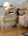 Antique White Nightstand MCFB8301-N