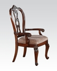 Arm Chair in Tobacco Nathaneal by Acme Furniture AC62313 (Set of 2)