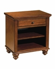 Aspen Cambridge One Drawer Night stand in Brown Cherry ASICB-451-BCH