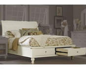 Aspen Cambridge Sleigh Storage Bed ASICB-4-2
