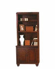 Aspen Cambridge Two Door Cabinet and Hutch ASICB-6126u-BLK