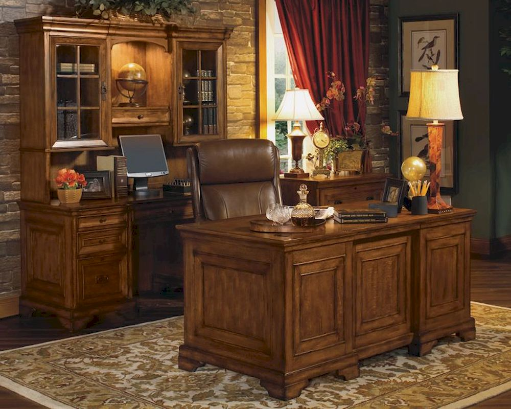 Executive Office Furniture: Aspen Centennial Executive Office Set AS49-6