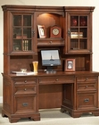 Aspen Credenza Desk and Hutch AS40-316-317