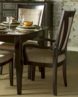 Aspen Dining Arm Chair in Espresso ASIKJ-6620A
