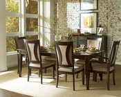 Aspen Dining Room Set in Espresso ASIKJ-6050s