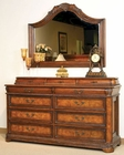 Aspen Dresser with Jewelry Case and Mirror Napa AS74-454-454J-463