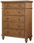 Aspen Five Drawer Chest Spruce Bay AS-I72-456