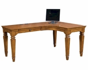 Aspen Furniture Curve L Desk E2 Class Harvest ASI15-370R