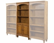 Aspen Furniture Door Bookcase E2 Class Harvest ASI15-332