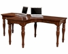Aspen Furniture E2 Class Villager Dual T Desk ASI20-380-80H-CHY