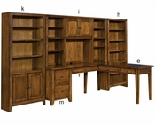 Aspen Furniture Home Office Set Cross Country ASIMRSet