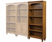 Aspen Furniture Open Bookcase E2 Class Harvest ASI15-333