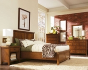 Aspen Furniture Panel  Bedroom Cross Country ASIMR-412Set