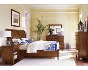 Aspen Furniture Sleigh Bedroom Cross Country ASIMR-400Set
