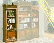 Aspen Left Facing Bookcase AS74-334