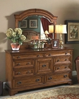 Aspen Master Dresser with Mirror Centennial AS49-453-462