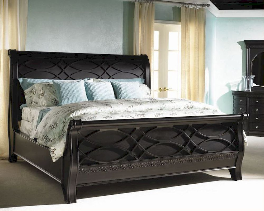 Aspen New Bedford Sleigh Bed Young Classic As88 40 2