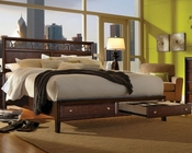 Aspen Panel Storage Bed Genesis AS-I10-412BEDD