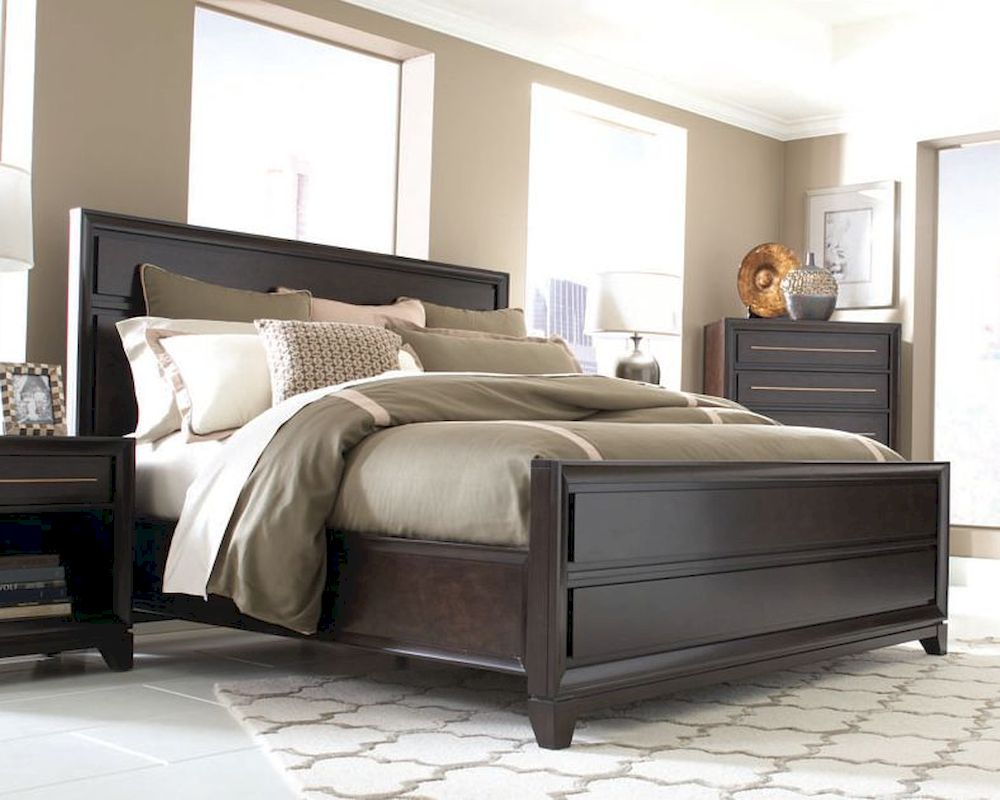 Aspen queen king cal king panel bed modena as i83 412bed Aspen home bedroom furniture prices