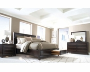 Aspen Queen/King/Cal King Panel Storage Bed Set Modena AS-I83-412SetD