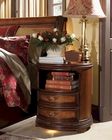 Aspen Round Nightstand Napa AS74-451-3