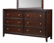 Aspen Six Drawer Dresser Genesis AS-I10-453