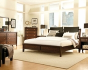 Aspen Sleigh Bedroom Genesis AS-I10-400SetL