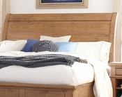 Aspen Sleigh Headboard Spruce Bay AS-I72-400WHB