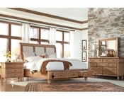 Aspen Upholstered Sleigh Storage Bedroom Spruce Bay AS-I72-400SetD