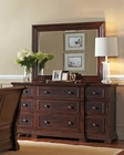 Aspenhome 9 Drawer Dresser and Mirror Westbrooke ASI59-454-63