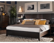 Aspenhome Bed w/ Curved Panel Headboard Contour ASI11-412-15BED