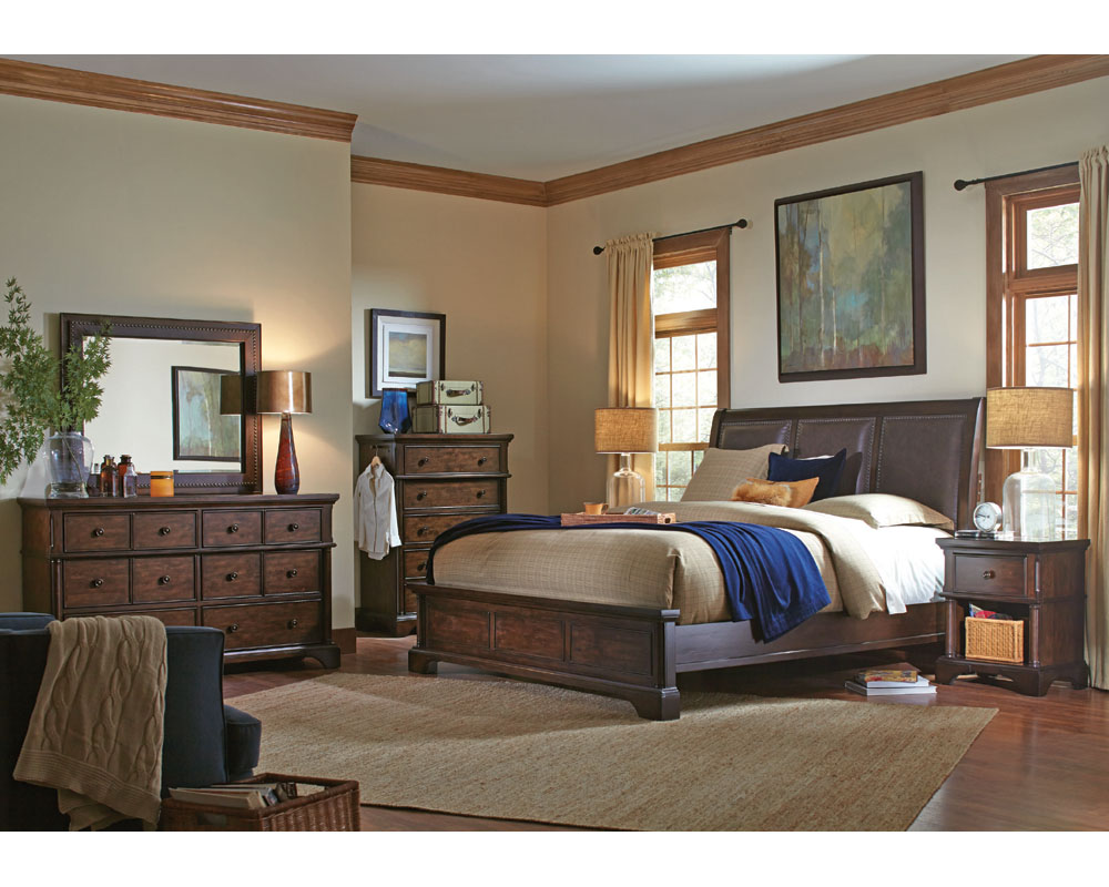Aspenhome bedroom set bancroft asi08 422set Aspen home bedroom furniture prices