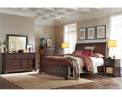 Aspenhome Bedroom Set w/ Sleigh Bed Bancroft ASI08-400SET