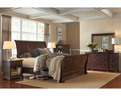 Aspenhome Bedroom Set w/ Sleigh Bed Westbrooke ASI59-400SET