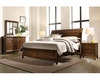 Aspenhome Bedroom Set w/ Sleigh Storage Bed Walnut Park ASI05-400SSET