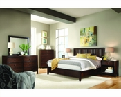 Aspenhome Bedroom w/ Woven Panel Headboard Contour ASI11-427-29Set