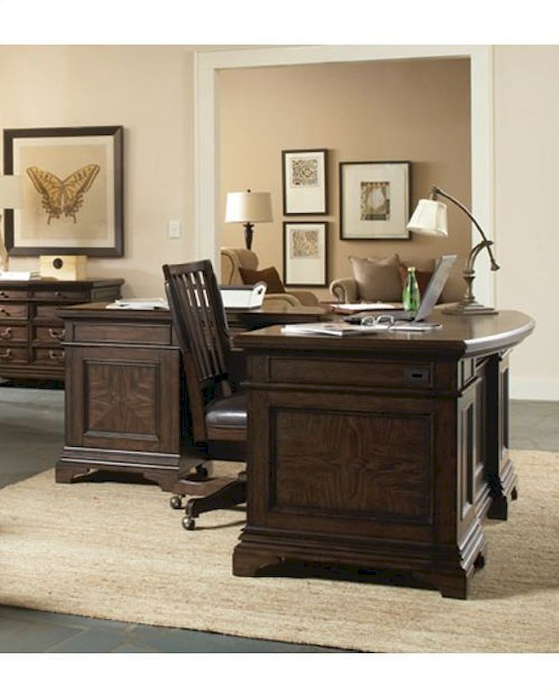 . Aspenhome Curved Desk for Return Essex ASI24 307