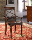 Aspenhome Double X Arm Chair Cambridge ASICB-6670A-BCH (Set of 2)