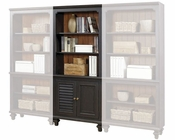 Aspenhome E2 Door Bookcase Ravenwood ASI65-332