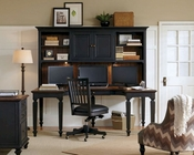 Aspenhome E2 U Desk and Hutch Ravenwood ASI65-385-380H