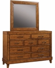 Aspenhome Furniture Chesser & Mirror Tamarind ASI68-455-62