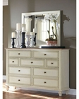 Aspenhome Furniture Chesser with Mirror Cottonwood ASI67-455-62