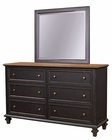 Aspenhome Furniture Dresser with Mirror Ravenwood ASI65-453-62