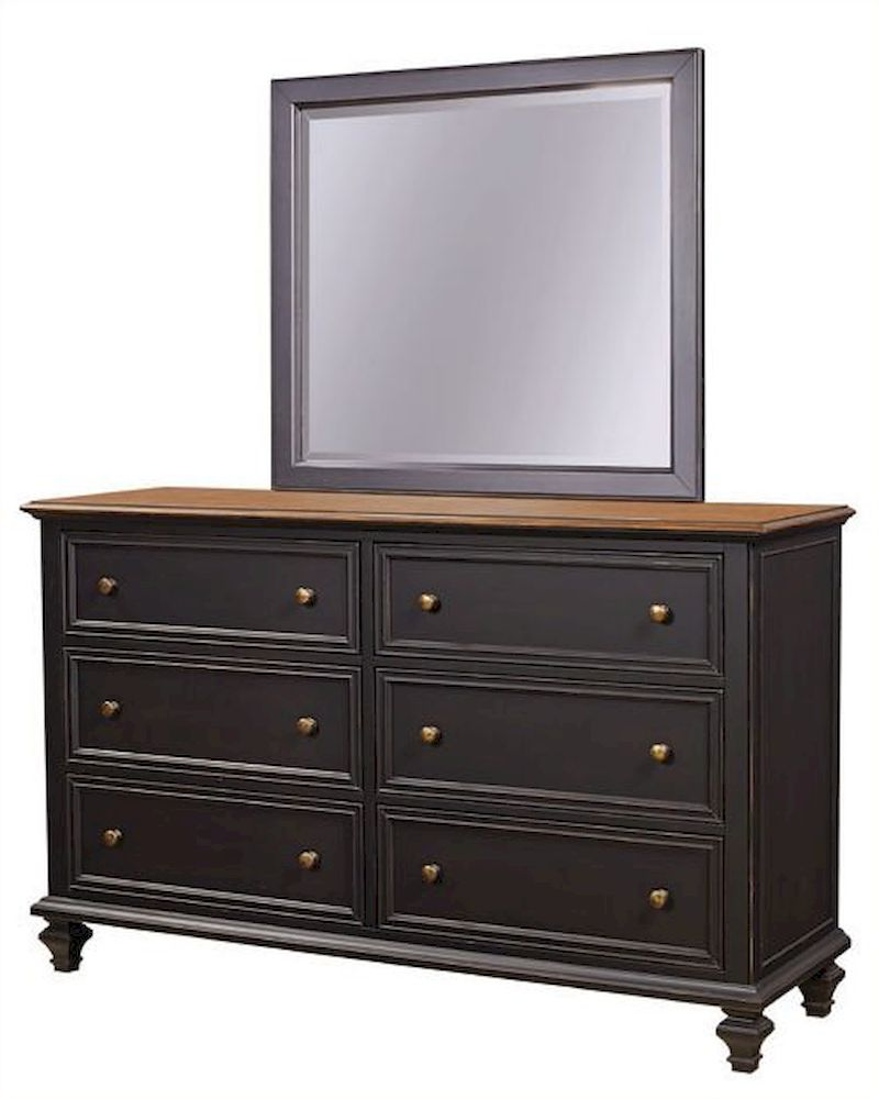 Aspenhome furniture dresser with mirror ravenwood asi65 453 62 Aspen home bedroom furniture prices